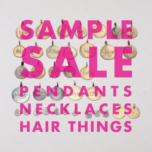 Image of Sample Sale - Pendants, Necklaces, Hair Things