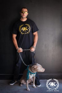 Image of 9K Racing Reef Crewneck T-Shirt Black