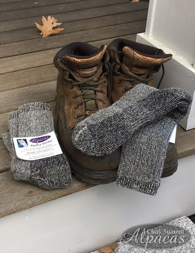 Image of Alpaca Socks Thick Warm Socks