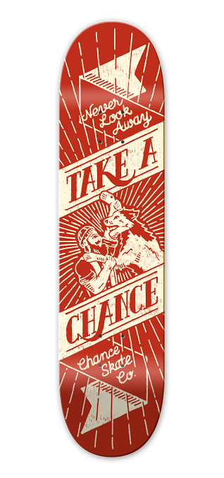 Image of CHANCE - TAKE A CHANCE- LION