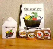 "Image of Take-Out Gift Set ""The Soup Pot"" Book and Complete Set of Spice Kits"