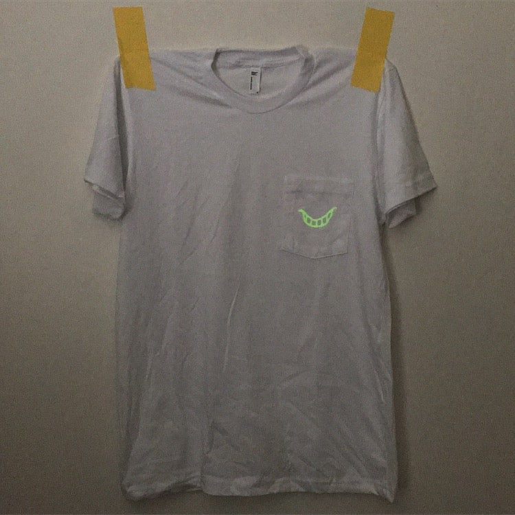 image of glow in the dark cliff pocket shirt △