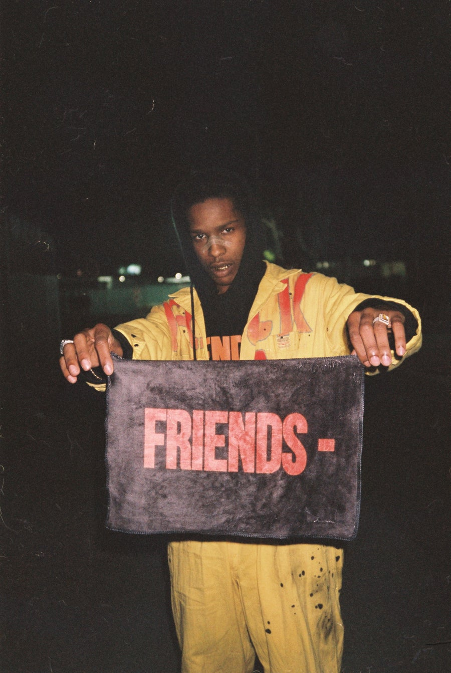 Image of A$AP Rocky - FRIENDS Print.