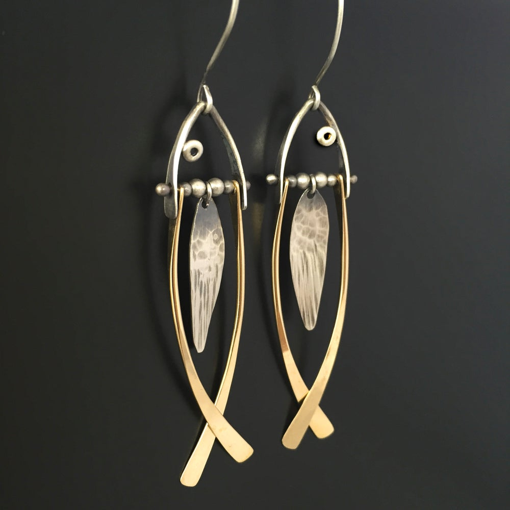 Image of Fish Earrings OR Pendant
