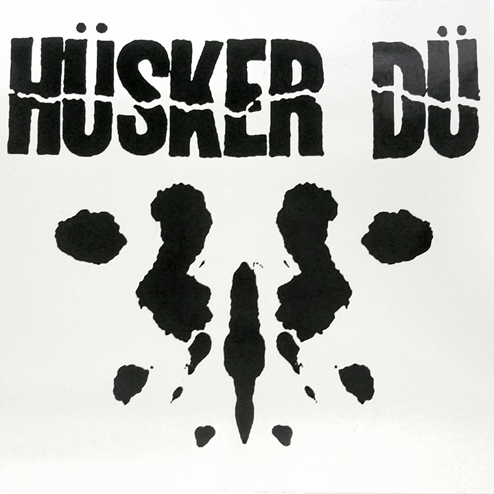 "Image of HÜSKER DÜ ""INKBLOT"" STICKER"