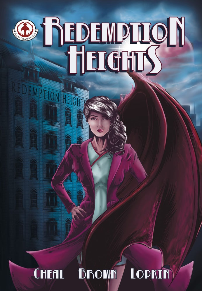 Image of Redemption Heights Graphic Novel