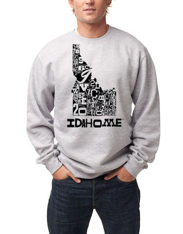 Image of County Lines Crew Neck Fleece Sweater