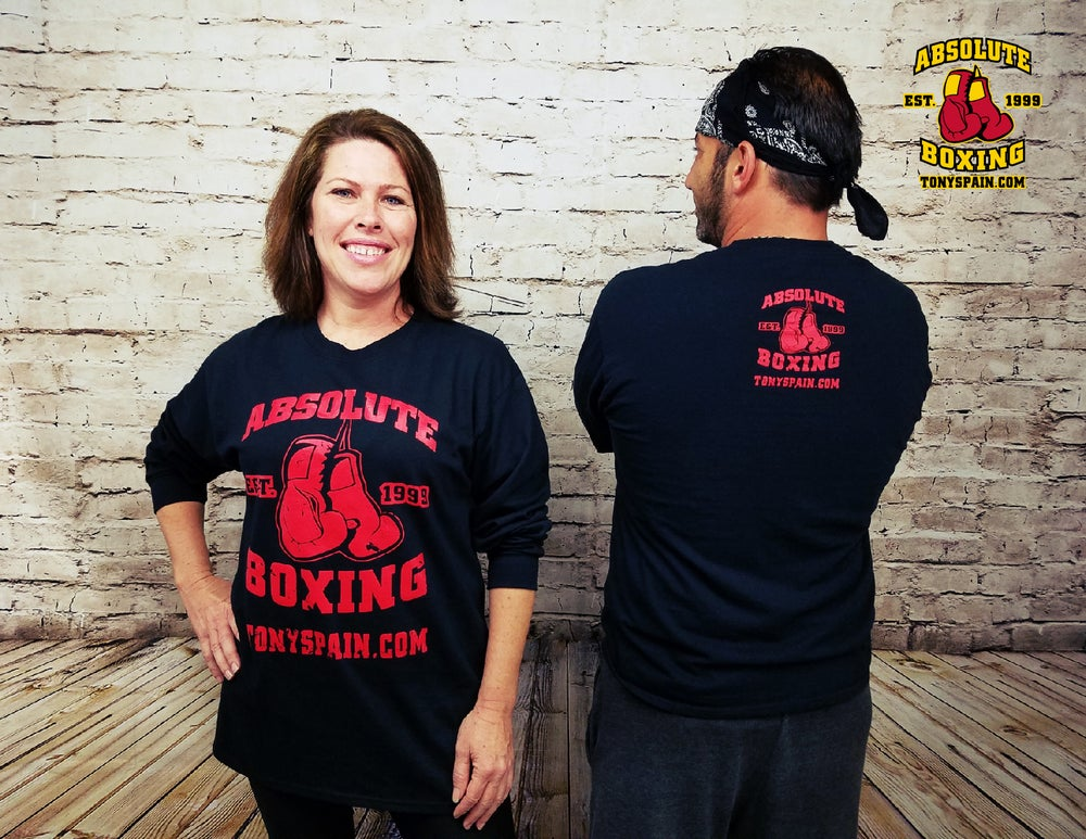 Image of Absolute Boxing Long Sleeve T-shirt (Black)