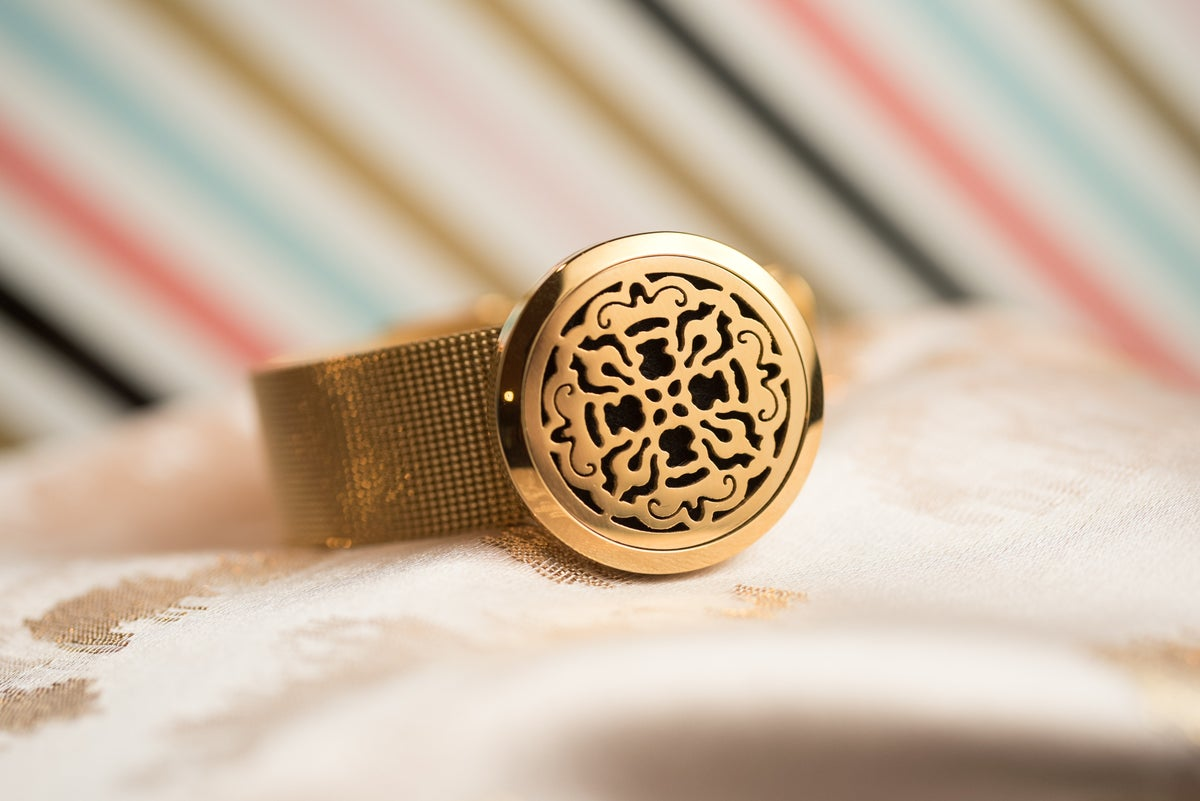 Image of Old Cross Essential Oil Diffuser Bracelet