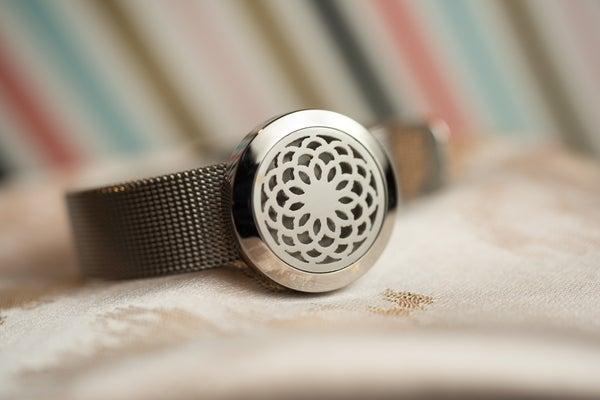 Image of Chrysanthemum Essential Oil Diffuser Bracelet