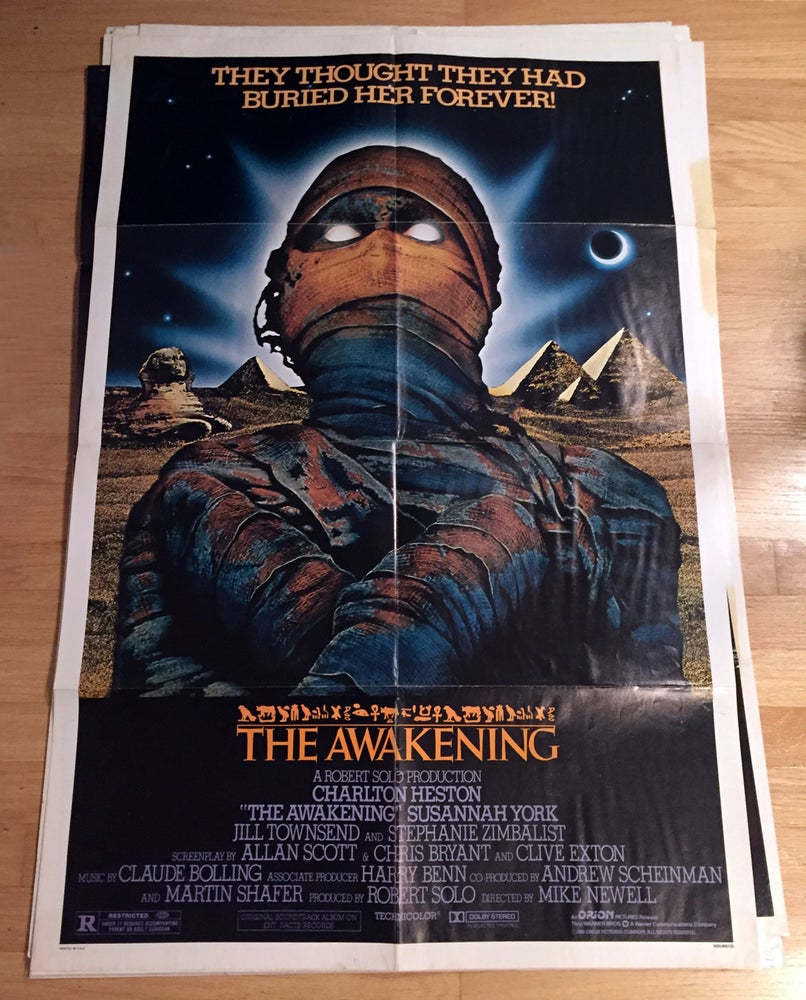 Image of 1980 AWAKENINGS Original U.S. One Sheet Movie Poster