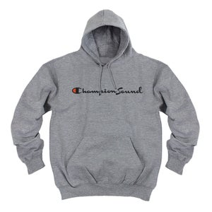 Image of Champion Sound men's hoodie (Grey)