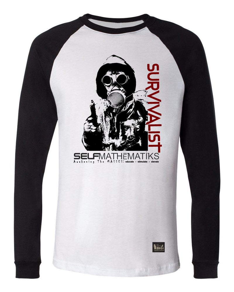 Image of SURVIVAL OF THE FITTEST LONG SLEEVE CLASSIC T ORIGINAL