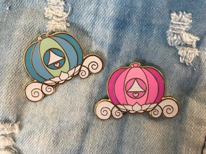 Image of Magical Carriage Enamel Pin