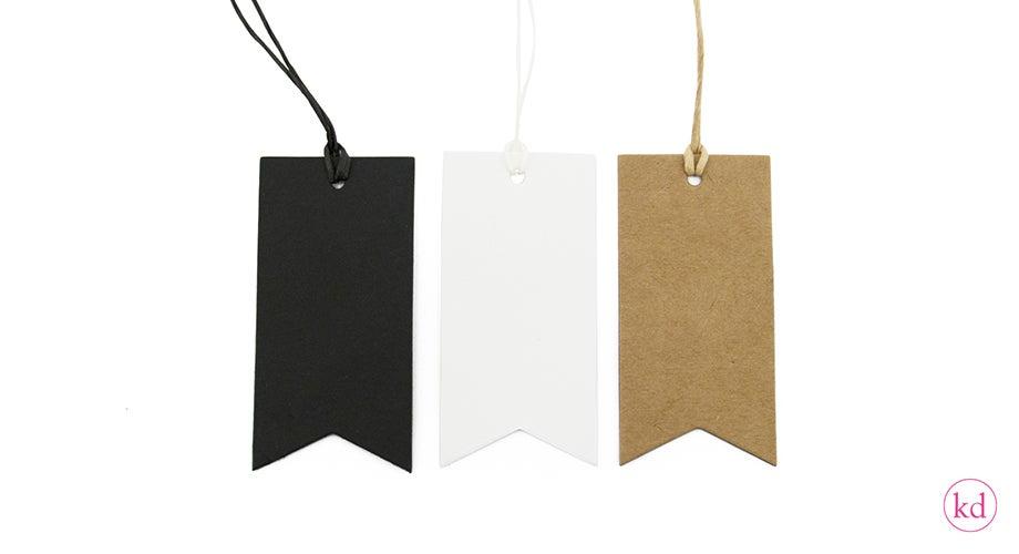 Image of Pakettikortti, musta ja valkoinen