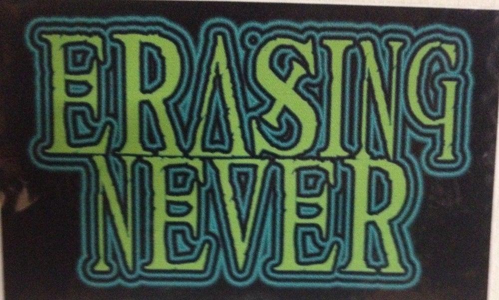 Image of Erasing Never Sticker