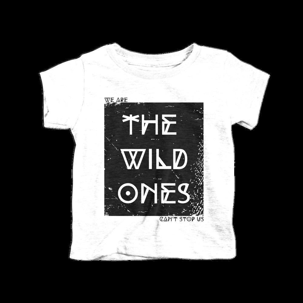 Image of Wild Ones Tee White / 2-6T