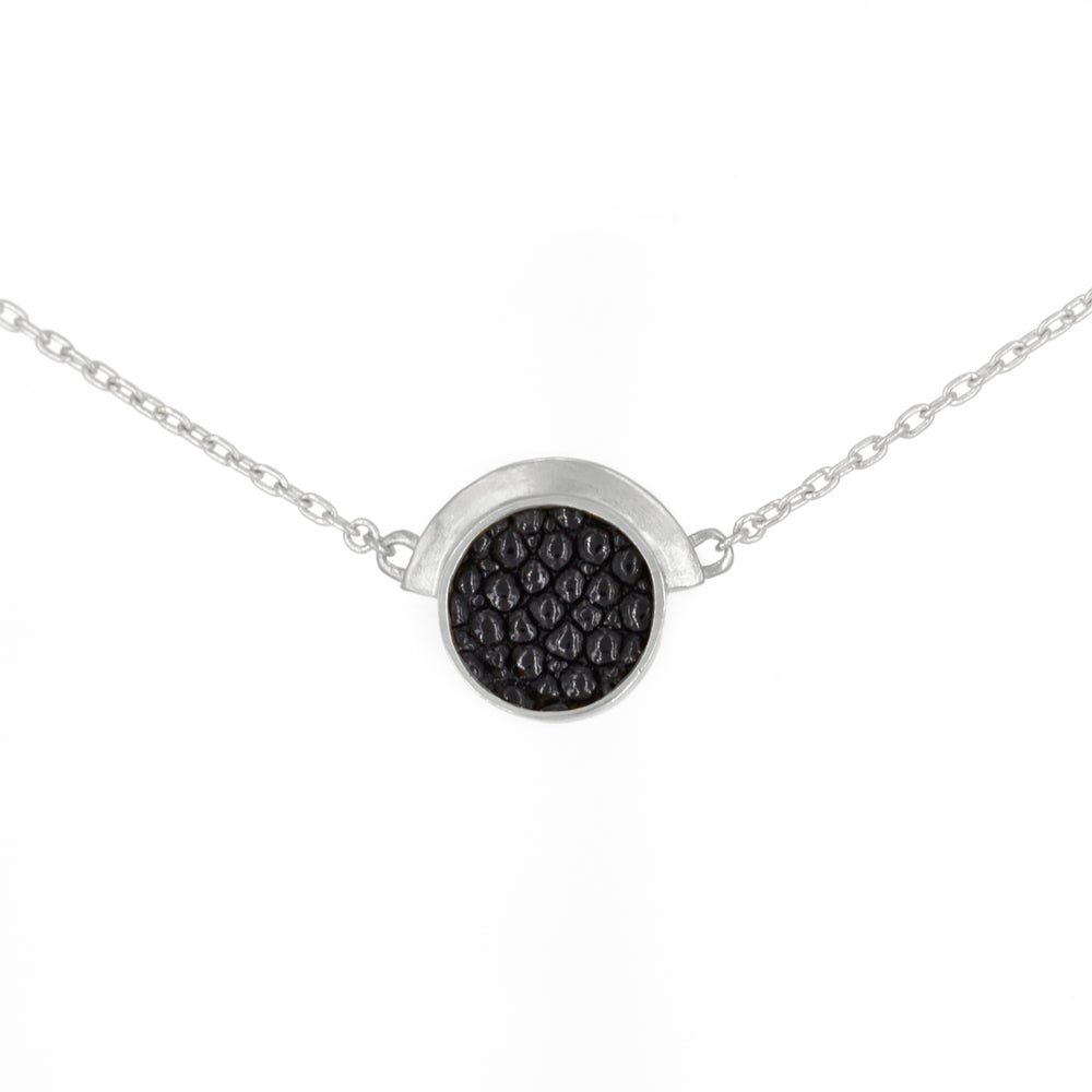 Image of ECLIPSE NECKLACE- SILVER