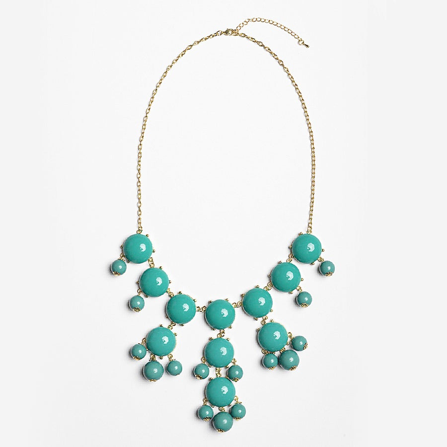 Image of Turquoise Bubble Necklace