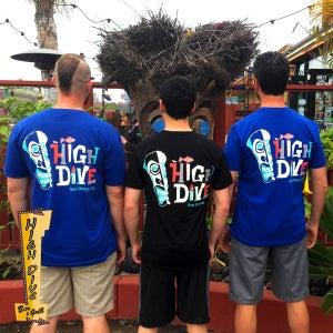 Image of Men's Tiki Shirt - Royal Blue
