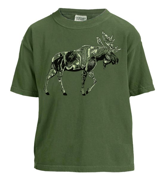 Image of Moose Tribe Youth T-shirt