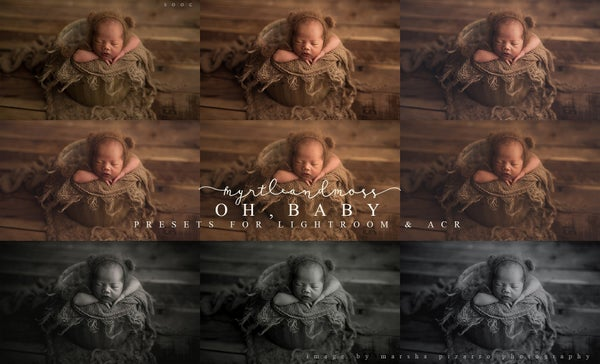 Image of 'Oh, Baby' - Lightroom and ACR Preset Pack