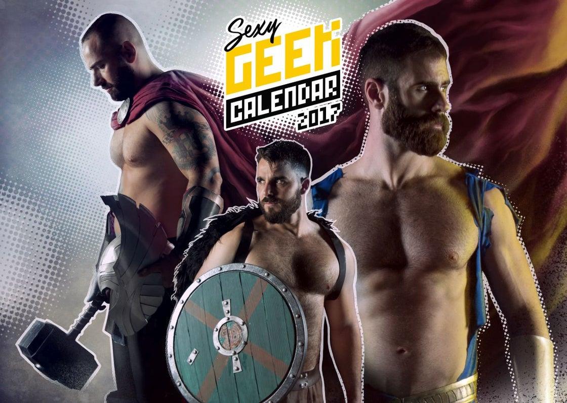 Image of The Sexy Geek Calendar 2017