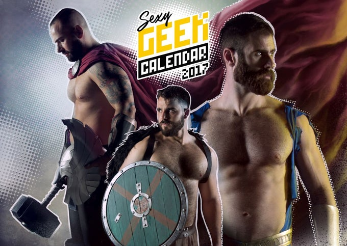 Image of The Sexy Geek Calendar 2017