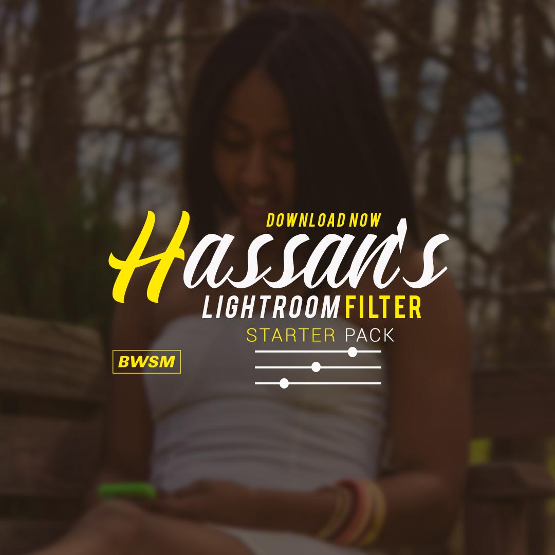 Image of Hassan's Lightroom Filter: Starter Pack