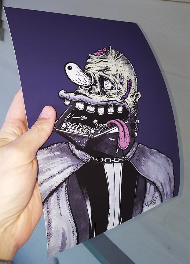Image of Vader Isn't Feeling Well Signed/Limited Print
