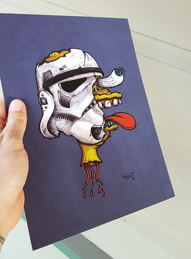 Image of Lightsabers Hurt Signed/Limited Print