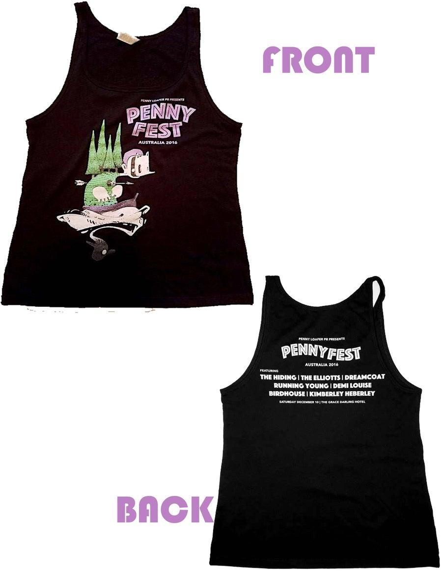 "Image of Pennyfest Australia 2016 ""Official"" Women's Tank"