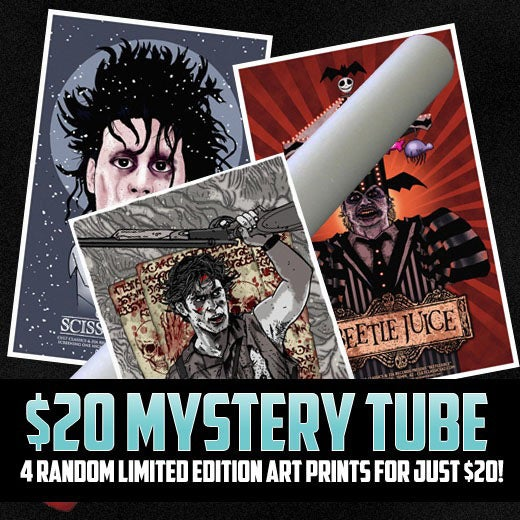 Image of Cult Classics $20 Mystery Tube - FOUR POSTERS FOR $20!