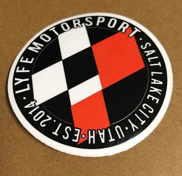 Image of LYFE Round Sticker
