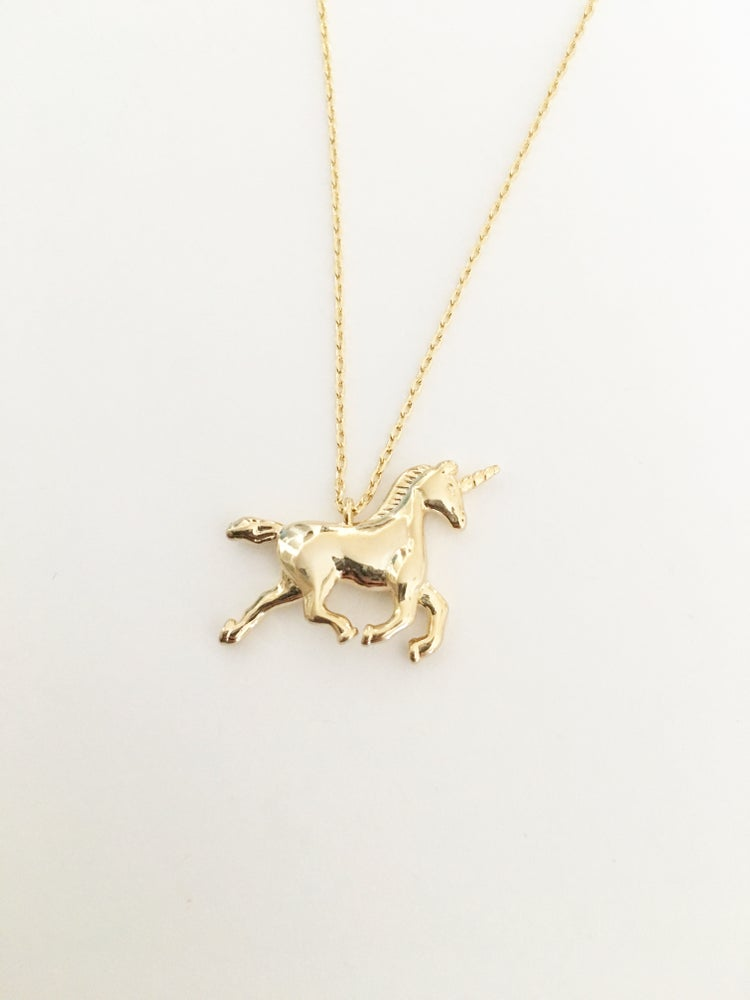 Image of Unicorn necklace