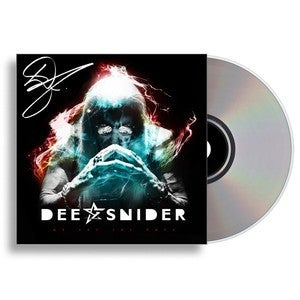 Image of Dee Snider-We Are The Ones Autographed CD