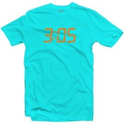 "Image of LIKE MIKE ""3:05"" Lt. Blue /Orange"