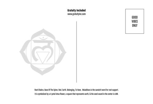 Image of Chakra-inspired Gratitude Postcards