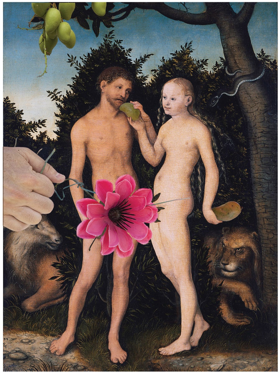 Image of Fallen Fruit - Adam and Eve with Mangos