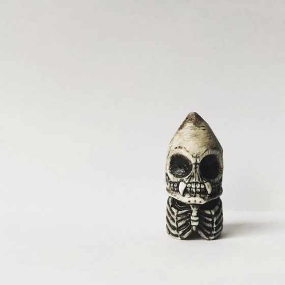 Image of Skeleton Crayon Pencil Topper