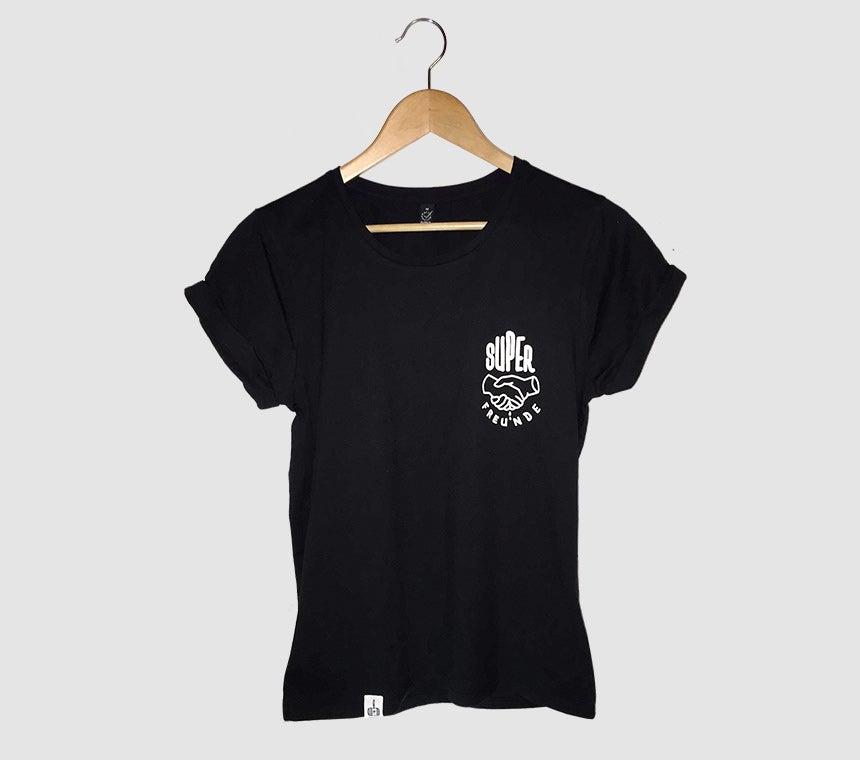 Image of SUPERFREUNDE Logo Ladies Shirt
