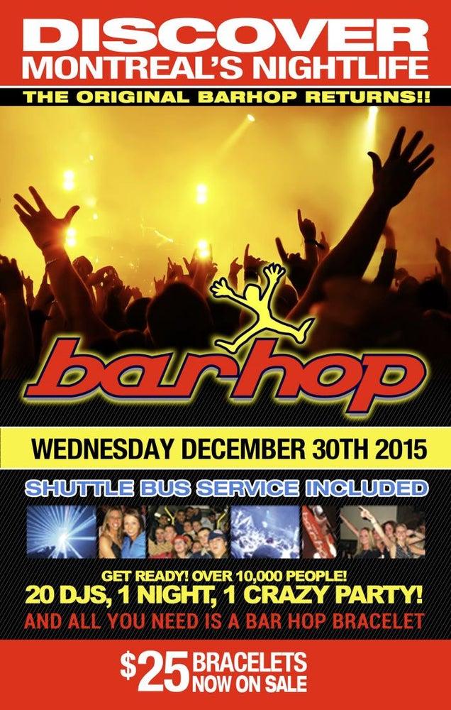 Image of December 30th Montreal Bar Hop