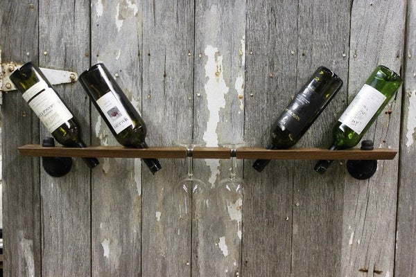 Image of Wine Essentials Floating Shelf