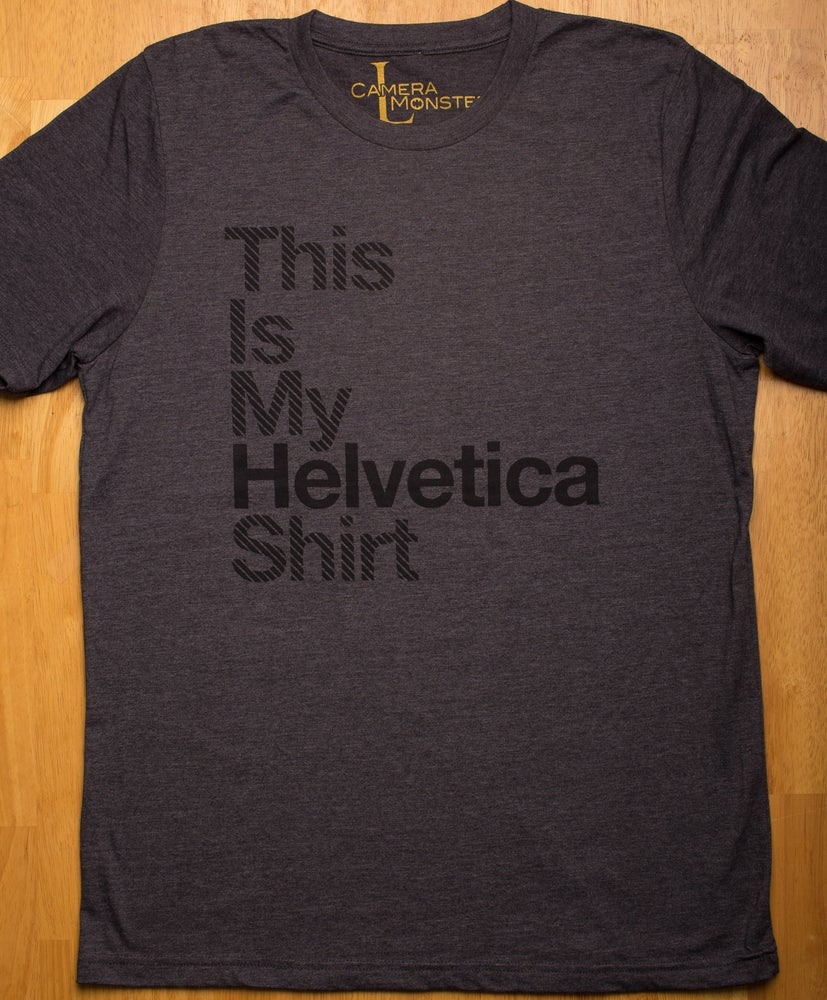 Image of Helvetica Shirt