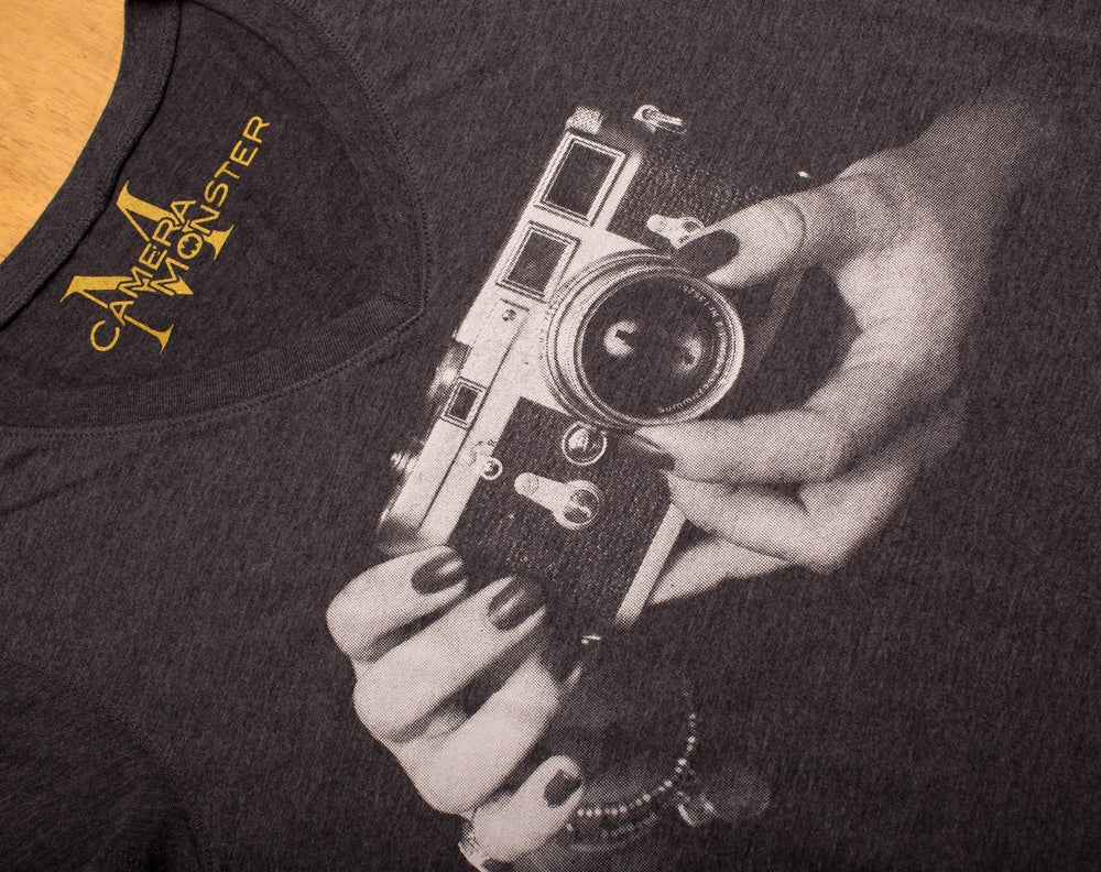 Image of Leica M3 Grip Lady's V-Neck Tee