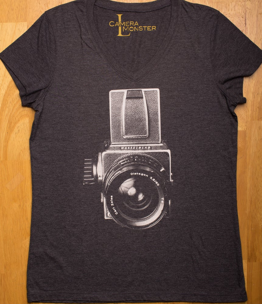 Image of Hasselblad 501C/M Lady's V-Neck Tee
