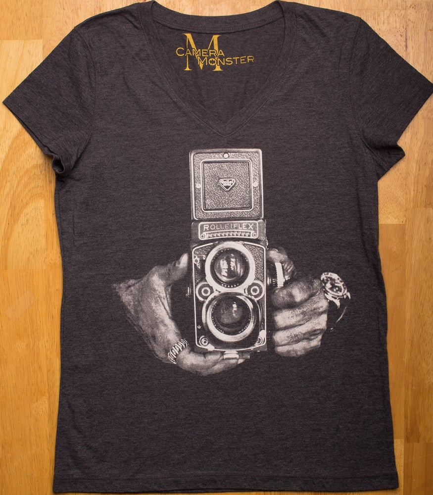Image of Rolleiflex Lady's V-Neck Tee