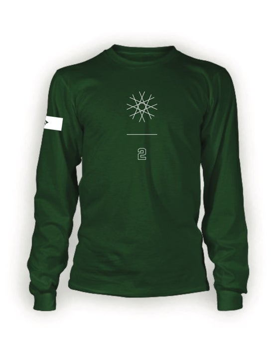 Image of SI Winter Intensive 2 Forest Green Long Sleeve