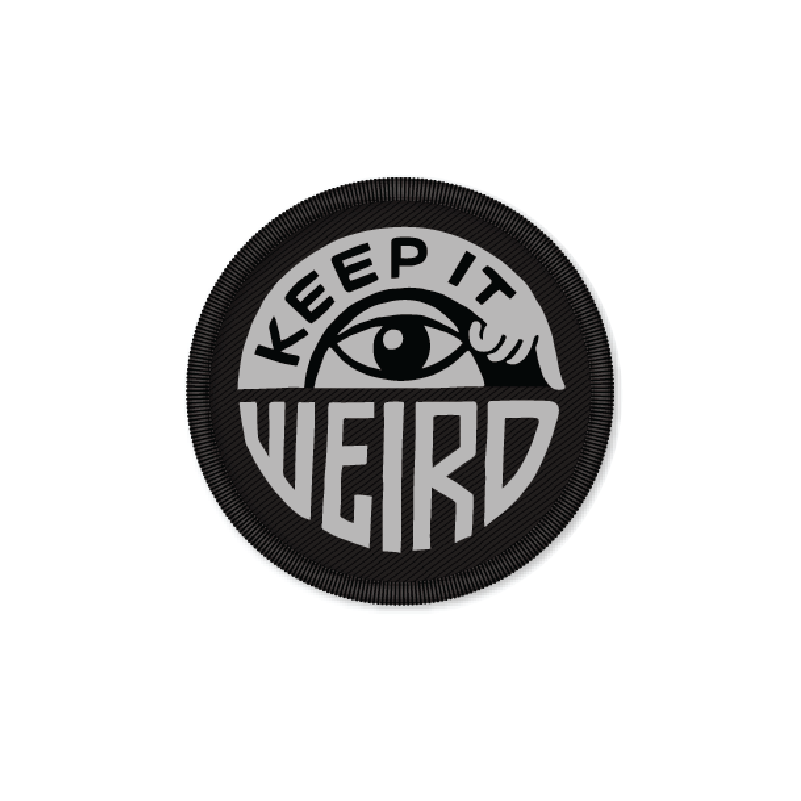 Image of Friends of Type - Keep it Weird Patch