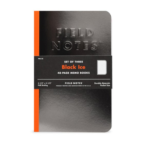 Image of Field Notes - Black Ice